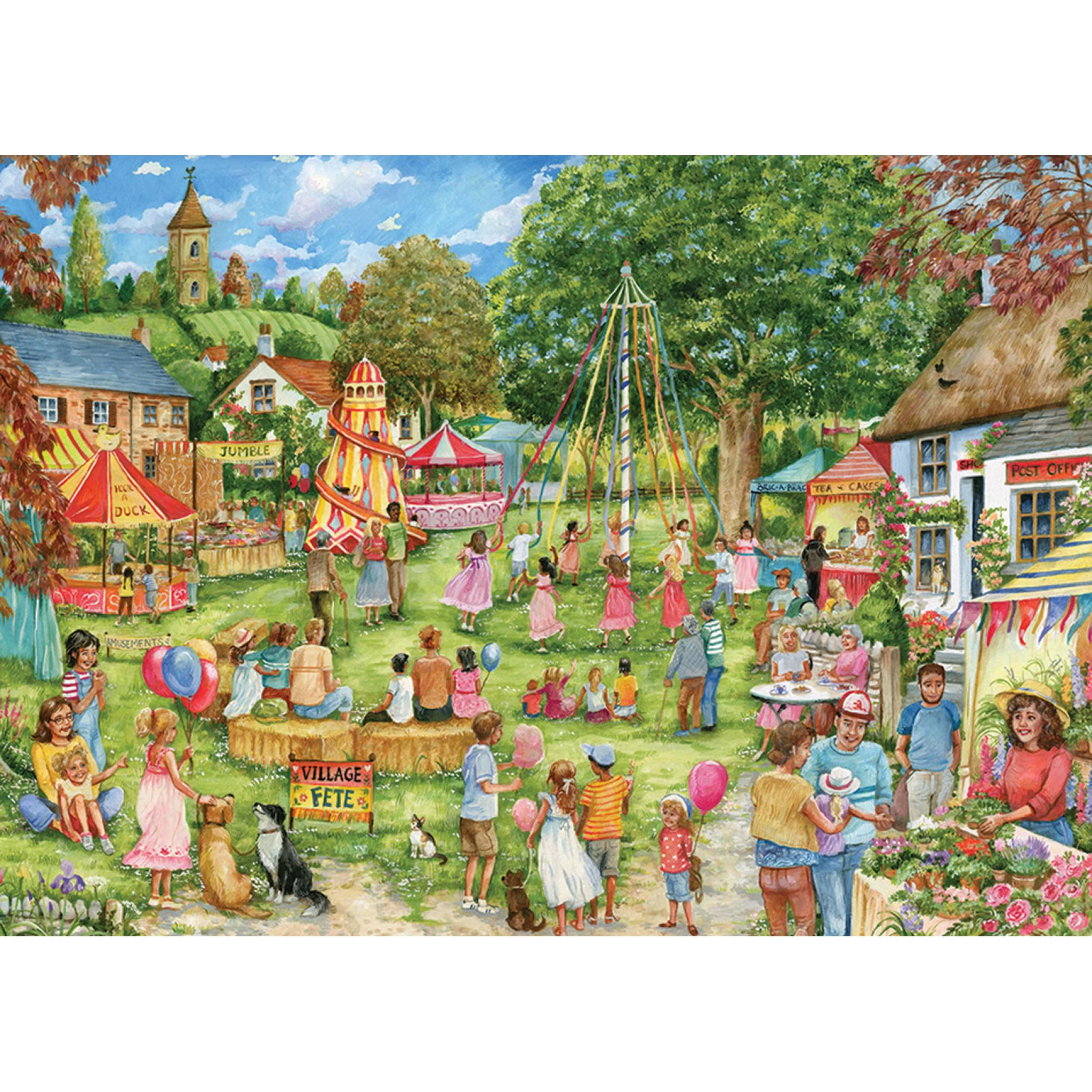 Pieces The Village Fete Jigsaw Puzzle