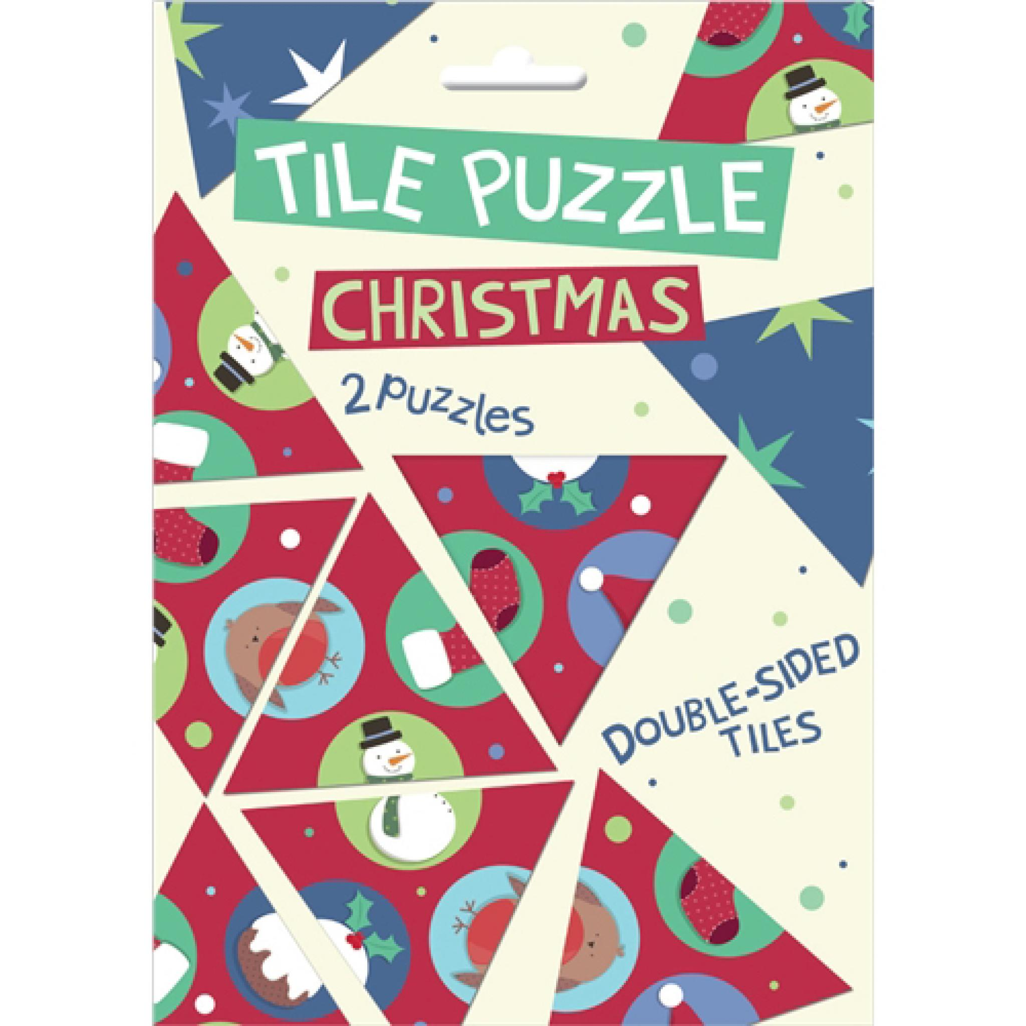 Christmas Brain Teasers With Answers.Brainteasers Tile Puzzle Christmas