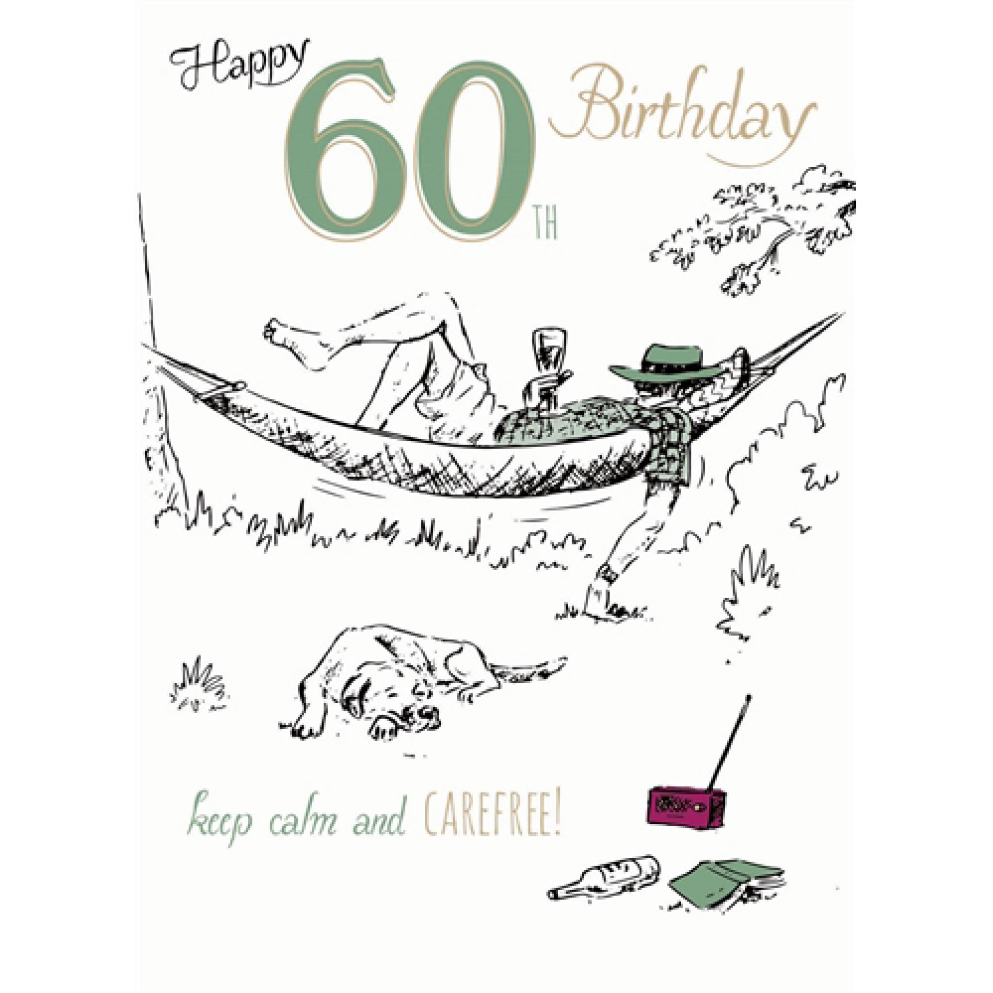 Hammock Time Young At Heart Card 60 Male