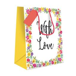 Gift Bag (Medium) - With Love Floral