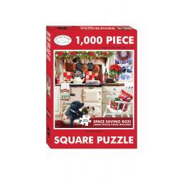 Square Jigsaw - Christmas Kitchen