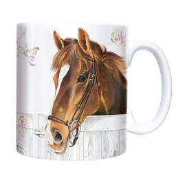 Straight Sided Mug - Horse