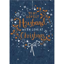 Christmas Card (Single) - Text (Husband)