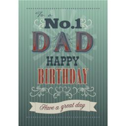 Family Circle Card - Dad