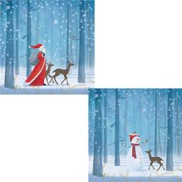 Help For Heroes Christmas Card Pack (Luxury) - Festive Forest