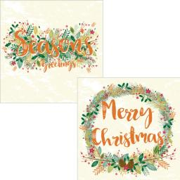 Luxury Christmas Card Pack - Christmas Wishes