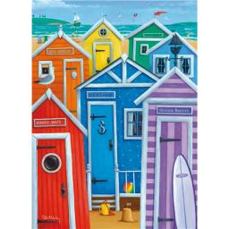 Peter Adderley Card - Rainbow Beach Huts