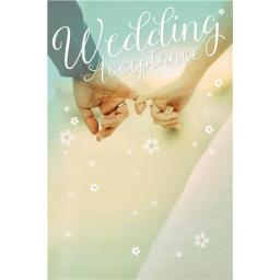 Wedding Acceptance Card - Holding Hands