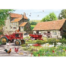 Rectangular Jigsaw - On The Farm