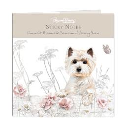 Pollyanna Pickering Stationery - Sticky Notes Selection (West Highland Terrier)