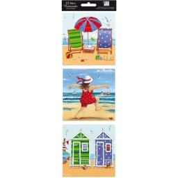 Hanging Notecard Pack - Seaside