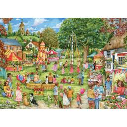 Rectangular Jigsaw - Village Fete