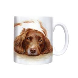 Straight Sided Mug - Watercolour English Springer Spaniel