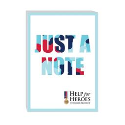 Help For Heroes Stationery - Notecard Pack (A6)