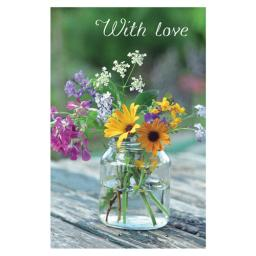 Dinkies Mini Card - Flower Jar