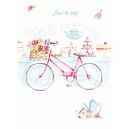 Teacups & Trinkets Card - Cake Shop