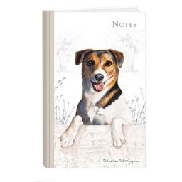 Pollyanna Pickering Stationery - Hardcover Notebook (A6 - Jack Russell)
