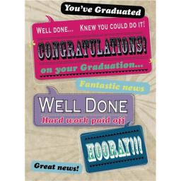 Congratulations Card - Graduation