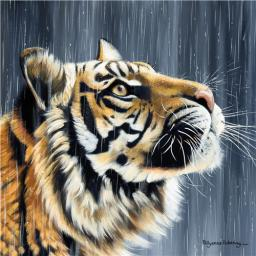 Pollyanna Pickering Collection - Tiger