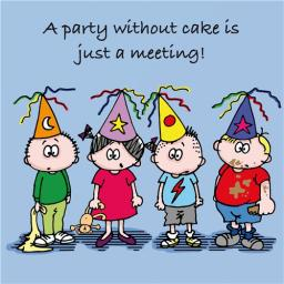 Little Else Card - Party Without Cake