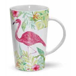 Latte Mug - Flamingo Paradise
