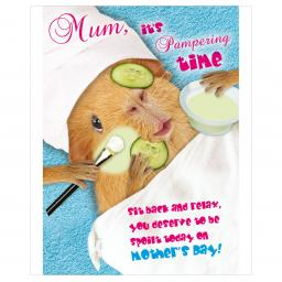 Mother's Day Card - Spa Time