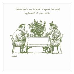 Thelwell Card - Indoor Plants