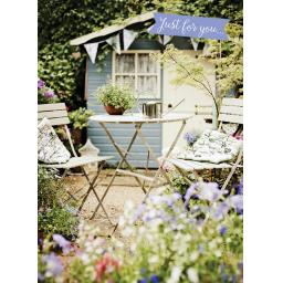 Floral Birthday Card - Summer House
