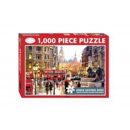 Rectangular Jigsaw - London