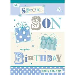 Family Circle Card - Son