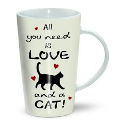 Latte Mug - Cat All You Need Is Love