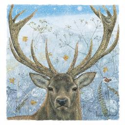 Charity Christmas Card Pack - Majestic Stag