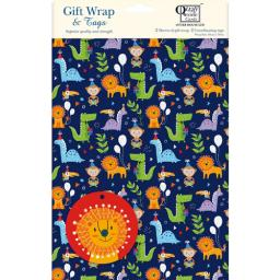 Gift Wrap & Tags - Jungle Party