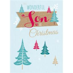 Christmas Card (Single) - Son 'Christmas Trees'