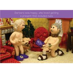 Nudinits Card - Present Of Nuts
