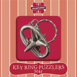 Brainteasers - Key ring Puzzle - Star (Intermediate)