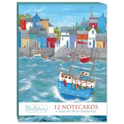 Peter Adderley Stationery - Notecard Pack (A6) Quayside
