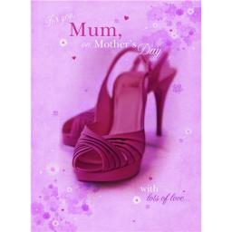 Mother's Day Card - Shoes