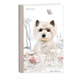 Pollyanna Pickering Stationery - Hardcover Notebook (A5 - West Highland Terrier)