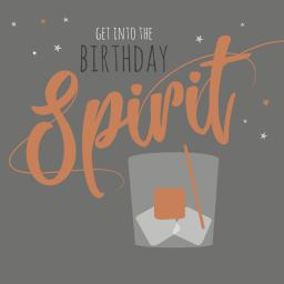Cheers Card Collection - Birthday Spirit