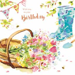 Birthday Treats Card Collection - Gardening