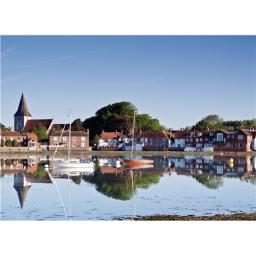 Perfectly Picturesque Card - Bosham Village (Chichester)