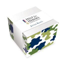 Help For Heroes Stationery - Jotter Block