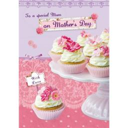 Mother's Day Card - Fairy Cakes