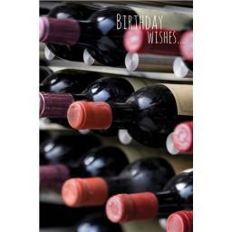 Dinkies Mini Card - Wine Cellar