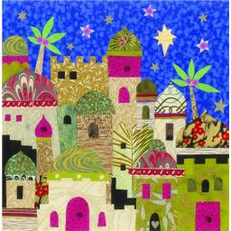 RSPB Small Square Christmas Card Pack - Bethlehem