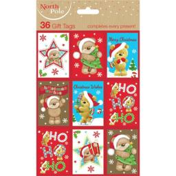 Christmas Gift Tags - Bears (36)