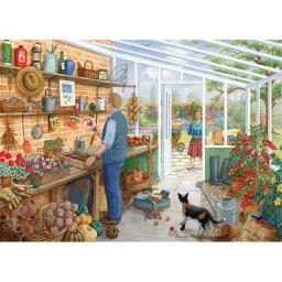 Rectangular Jigsaw - The Gardener's Room