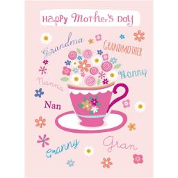 Mother's Day Card - Tea For Granny