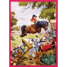 Thelwell Card - Up For The Cup